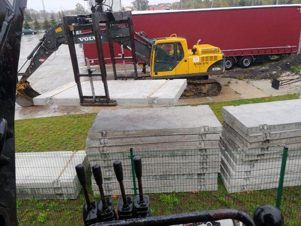 PŁYTY DROGOWE - betonowe 200x100x15