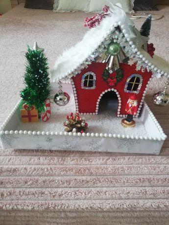 Domki świąteczne Boże Narodzenie