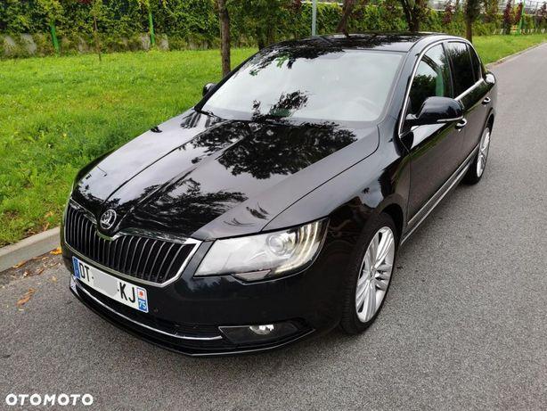 Škoda Superb * 2015r * 2.0 TDI * grzane fotele TYŁ*skóra*navi*xenon*wyposażona*