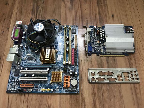 Płyta główna Gigabyte 945GCMX-S2 + Intel E2180 + 2GB RAM + VGA