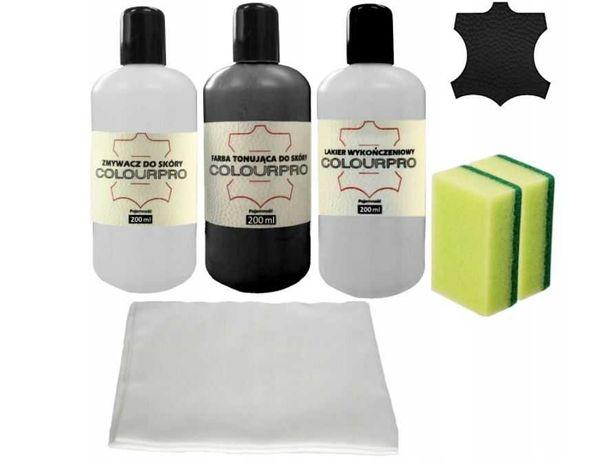 Zestaw Farb do renowacji tapicerki skórzanej  Colourpro 200ml