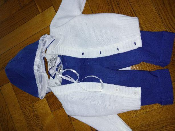 Ubranko do chrztu, garnitur
