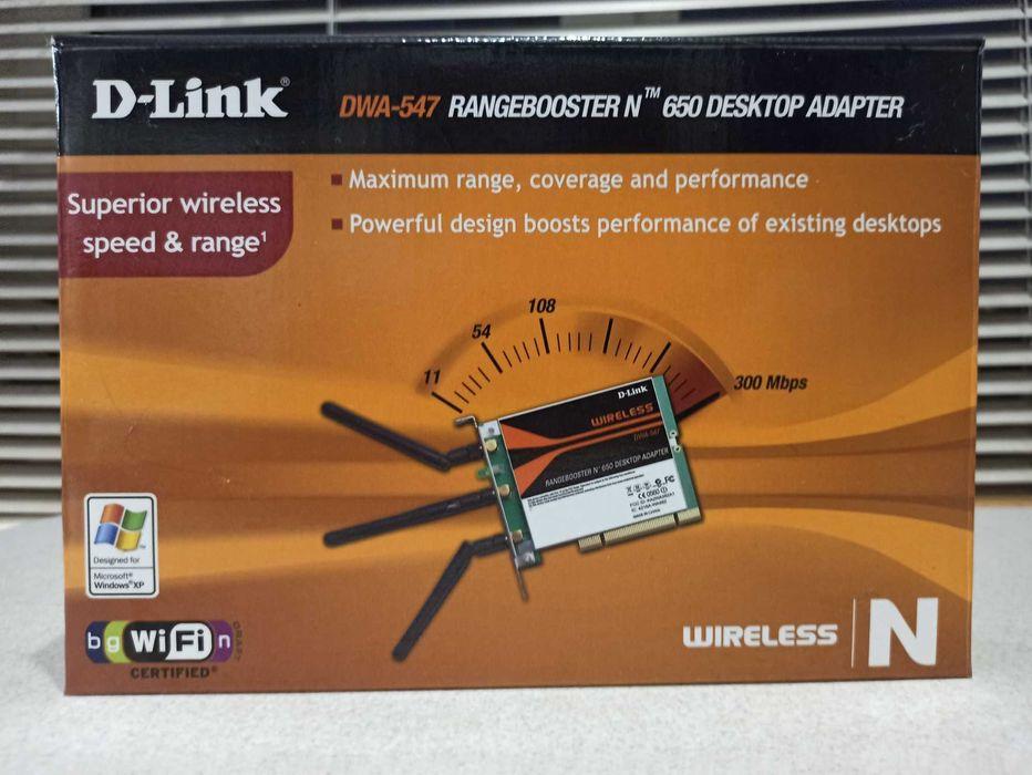 Продам Wi-Fi адаптер для ПК D-Link DWA-547 Харьков - изображение 1