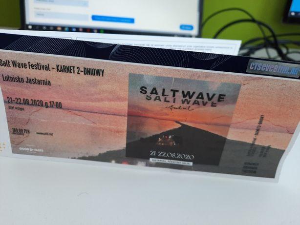 Salt Wave Festival - KARNET 2-DNIOWY - 2 sztuki (20-21/08/2021)