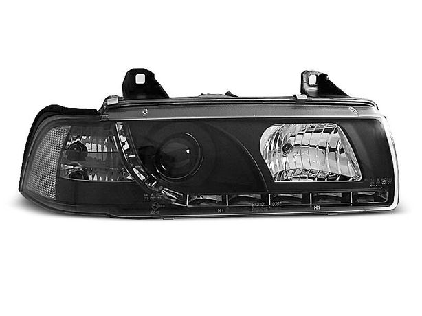 Lampy przód e36 coupe cabrio