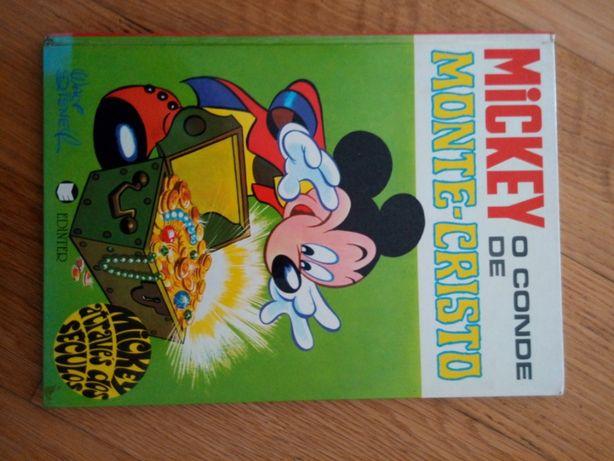 Livro Coleção Mickey através dos Séculos