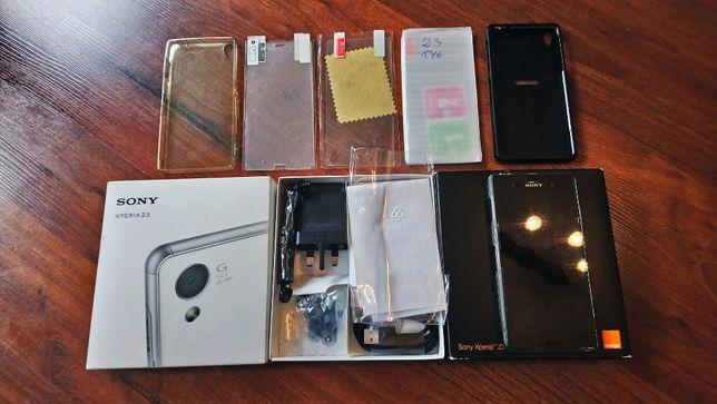 Sony Xperia Z3 16GB używany bdb stan gratis szkła i folie etui