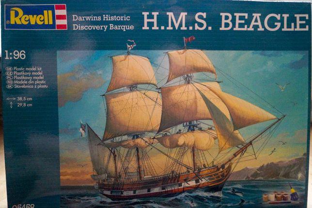 !OKAZJA! Model Revell HMS BEAGLE skala 1:96