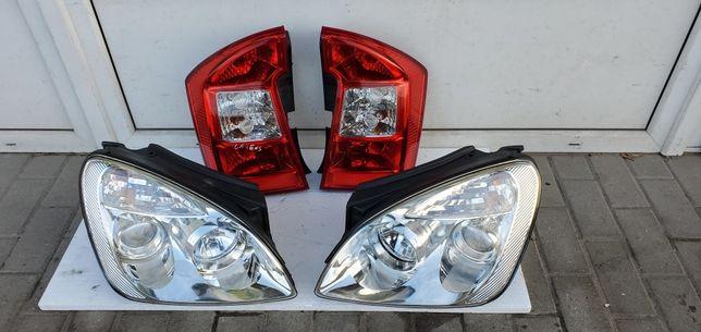 Фара передняя, фонарь задний Kia Carens 3 2006-2012 г.в. оригинал б.у.