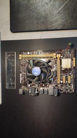 Zestaw płyta główna h81 Asus i3 4gb DDR3