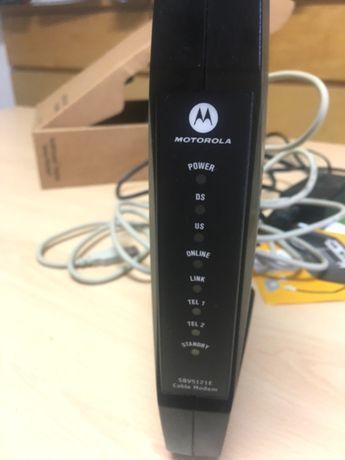 router modem motorola SBV5121E-CN stan BDB