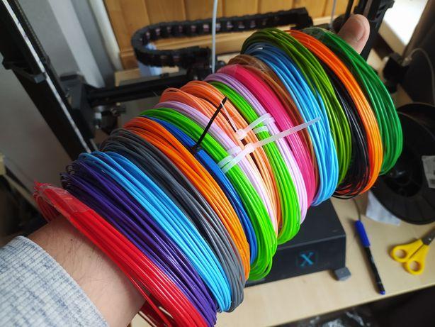 Мега ВЫГОДА! 15 цветов ПЛА PLA пластик для 3д ручки