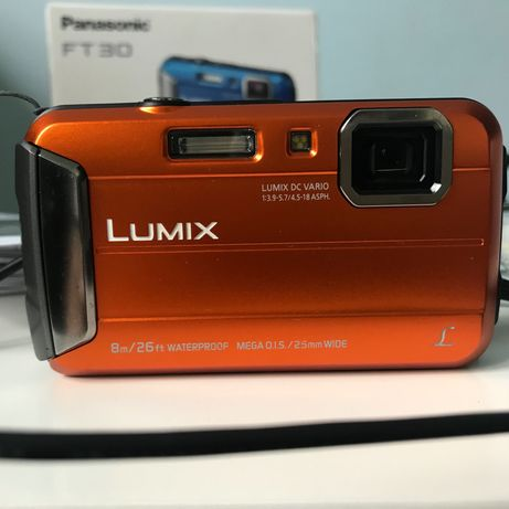 Aparat fotograficzny Lumix Panasonic FT30 wodoodporny