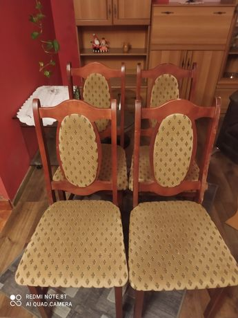 Krzesła zestaw Komplet Polecam