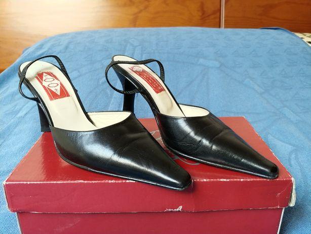 Sapatos salto alto nº 38 em optimo estado