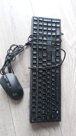 Klawiatura mechaniczna Cooler Master mysz do gier  G403