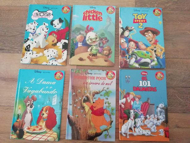 11 livros coleção disney