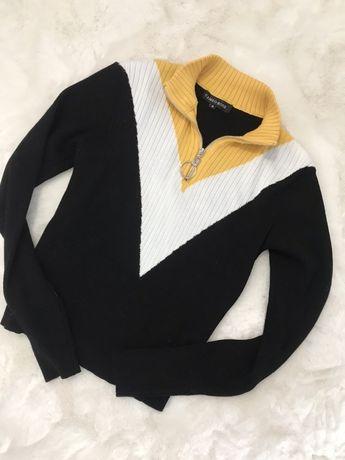 Fajny  modny sweterek Rose roz M