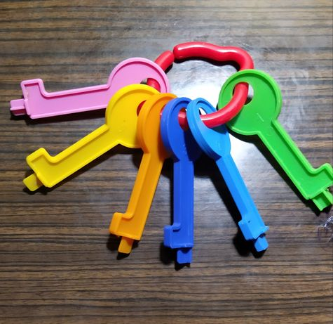 Ключики для детского сортера