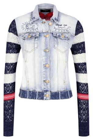 DESIGUAL Nowa Oryginalna kurtka jeansowa