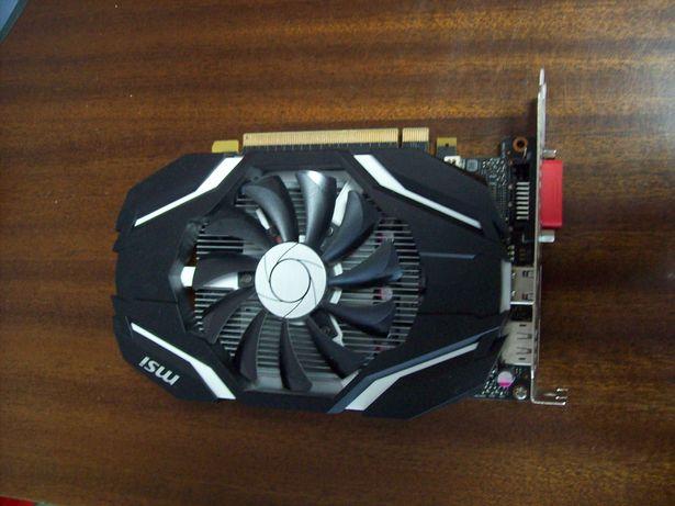 MSI GeForce GTX 1050 Ti OC 4GB GDDR5 128bit PCI-e