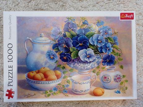 Пазли puzzle 1000 Blue bouquet