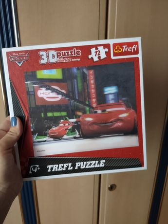 Trefl Puzzle 3D Auta