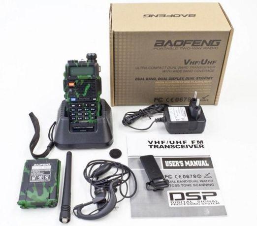 Рація Baofeng UV-5R рация радиостанция 8 wat!!