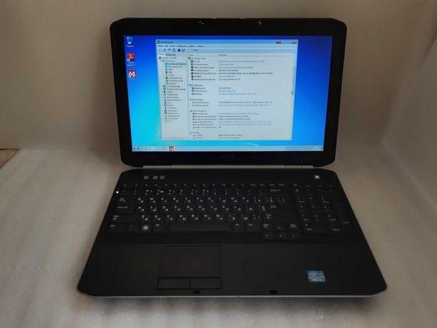 Дешево! Dell e5520, i5-2430m, 4 Gb, 250 Gb, батарея 3 год