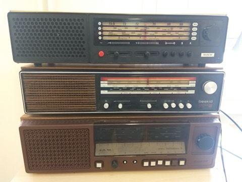 Stare radio stare radioodbiorniki PRL Narew, Beskid, Taraban