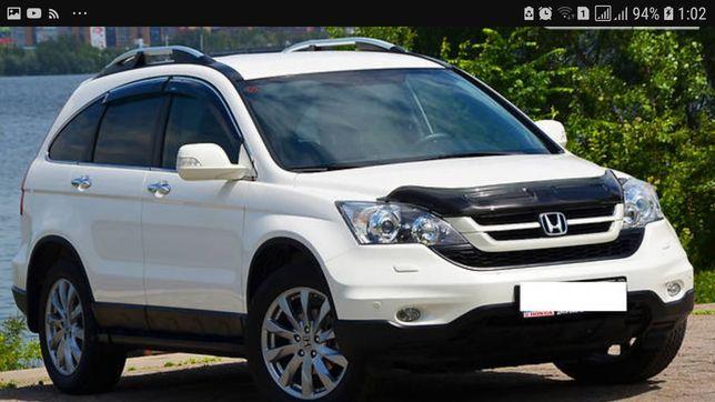 Аренда авто белого цвета для свадьбы. Honda CR-V.