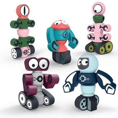 МАГНИТНЫЙ конструктор magnetic robots 4 магнитных робота