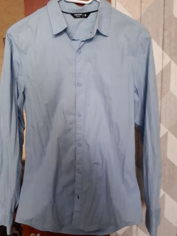 Koszula meska/chłopięca błękitna, rozmiar S, CROPP