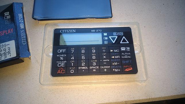 Mini calculadora + data bank