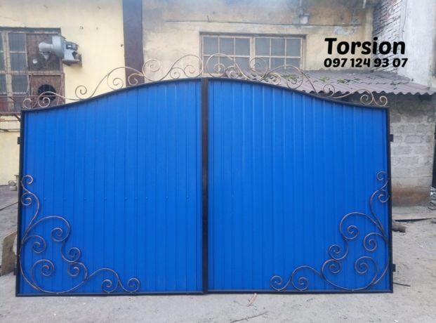 Ворота вьездные 8850 грн