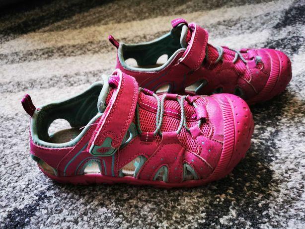 Sandały dziewczęce 4F