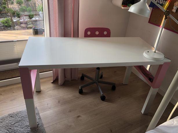 Biurko i krzesło obrotowe IKEA