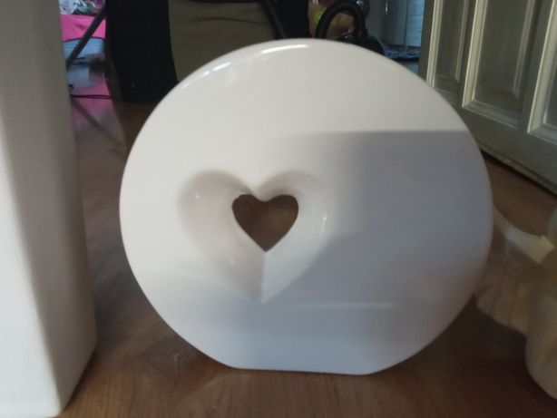 biały wazon serce-walentynki+drugi+aniołek