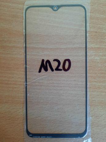 Стекло на Samsung m20 сменное замена при разбитом дисплее