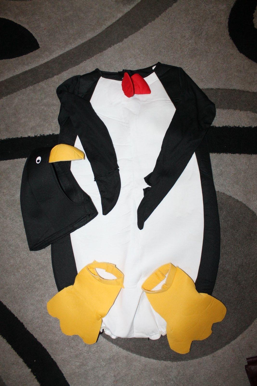 Костюм пингвина карнавальный маскарадный анимация игровой новогодний