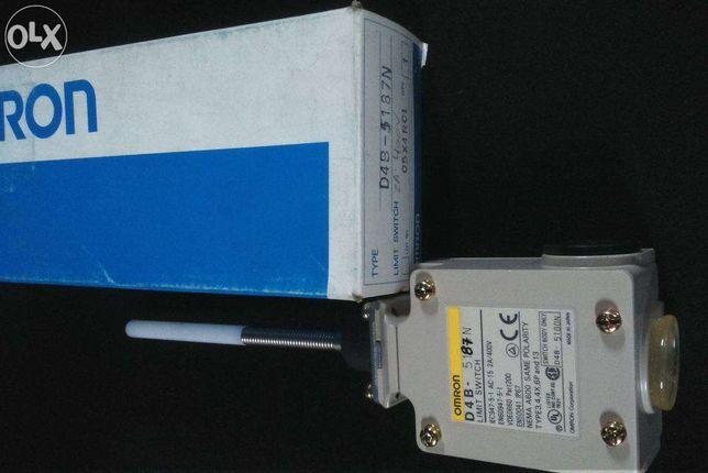 Interruptor limite fim de curso Omron D4B-5187N