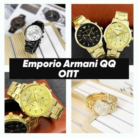 Наручные часы Emporio Armani QQ. ОПТ от 10 единиц.