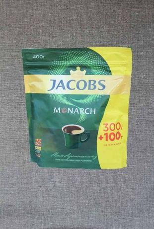 Кофе сублимированный Якобс (Jacobs Monarch) в эконом пакете 400 г