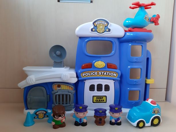 Игровой интерактивный набор Полицейская станция