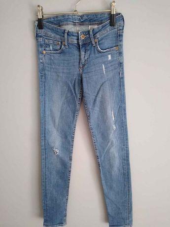 Jeansy jak nowe rurki mało używane 26zl DENIM