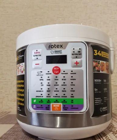 Продам мультиварку на 31 программу белая Rotex 900Вт