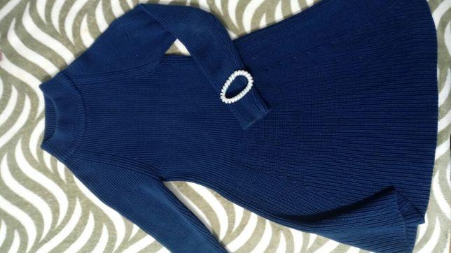 Платье леди р.146 чистый коттон