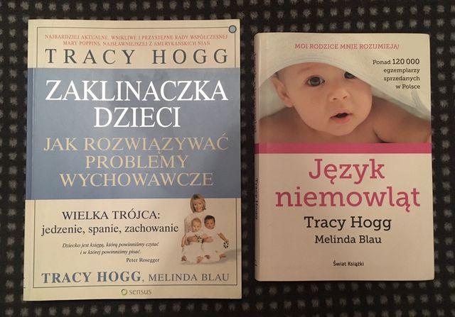Tracy Hogg, komplet 2 książek Język niemowląt i Zaklinaczka