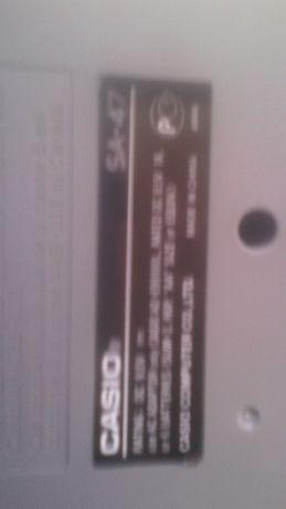 Teclado Casio Sa A7
