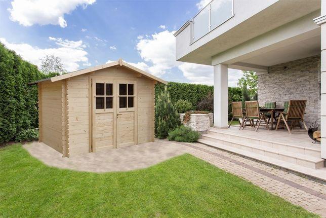 Domek drewniany ogrodowy 3x2m narzędziowy drewutnia altana domki